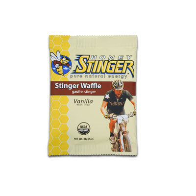 A staff favorite at Honey Stinger with the familiar flavor of honey infused with vanilla. Stinger Waffles are perfect as a snack food any time. - $1.39