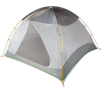 Camp and Hike Perfect for car camping or setting up base camp, the EMS Big Easy 4 is exactly what it sounds like: incredibly roomy and incredibly easy to set up. So whether you're heading out for a relaxing weekend with friends or something a little more extreme, the Big Easy is a great choice at a great price. - $249.00