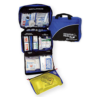 Wilderness medicine goes beyond blisters and Band-Aids. That's why Adventure Medical kits are designed with the wisdom and experience of Dr. Eric Weiss, an emergency department doctor who adventures just like you. Ideal for trip durations of up to 28 days and groups of up to 14. Supplies and instructions are efficiently organized with the EZ Care system,  into antibacterial coated, clear vinyl, injury specific compartments for fast access and care. Inner, ultralight, waterproof bag for short ventures. - $190.00