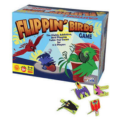 Test your skills with Channel Craft's highly addictive, table top game for two and see who can get the most points by Flippin' Birds. - $5.95