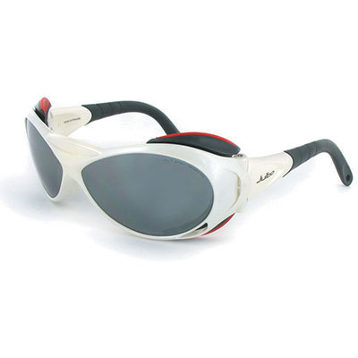 The new Julbo Explorer was developed in collaboration with the French national skiing and mountaineering school for high-altitude mountain wear. Superb optimal quality, adjustable temples, and other premium features. Go back to the future.This product will be shipped directly from Julbo and will leave their warehouse in 2-3 business days. Eligible for UPS ground shipping only. - $125.00