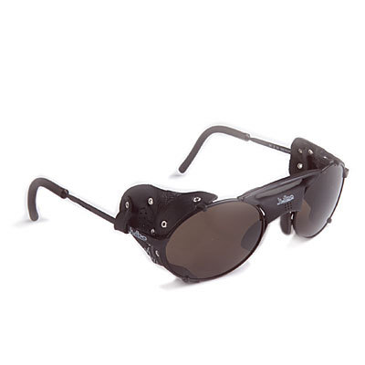 The Julbo Micropore are traditionally styled glacier glasses with removable side shields and lightweight nickel/copper frames. Recommended for winter sports and mountaineering.This product will be shipped directly from Julbo and will leave their warehouse in 2-3 business days. Eligible for UPS ground shipping only. - $100.00