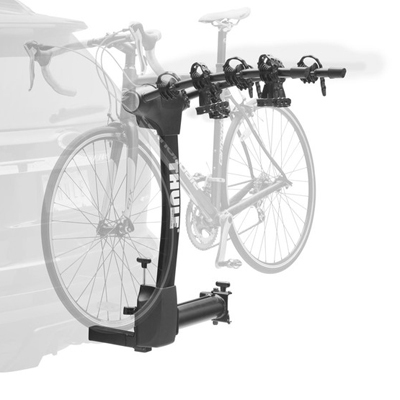 This hitch rack's unique arc design makes it easier to load and unload, provides better ground clearance and gives you greater distance between your bikes for easy transport. - $319.96