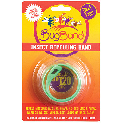 Great for recreational outdoor play, the EES BugBand Insect Repelling Wristband is a safe and effective way to protect yourself from mosquitoes without covering your body in weird chemicals. - $4.95