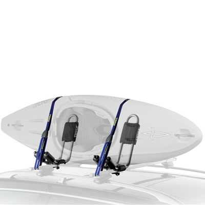 Kayak and Canoe The Thule Hull-A-Port is the standard J-style cradle that delivers superior carrying performance and protection with its 4-touchpoint adjustable padding and rust resistant steel design. - $149.95