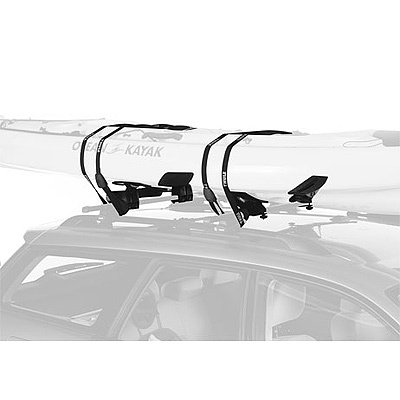 Kayak and Canoe Thule makes loading boats easy, add the 884 Roll Model to your Thule rack and you can roll hulls onto the glide saddles and then onto the set saddles. Strap down and drive away. - $249.95