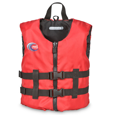Lightweight and comfortable for active, younger boaters, the Child Livery from MTI is totally open on the sides for paddling maneuverability and cool comfort on hot days. - $36.95