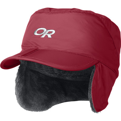 With a weather-resistant shell, soft Posh Pile interior, and adjustable earflaps, kids will want to go outside so they can wear the Outdoor Research Expedition Cap. - $30.00