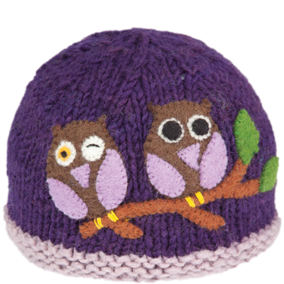 Delightful and free-spirited, Ambler's Wink Hat is sure to make kids and grown-ups smile...and wink...and hoot! - $14.98