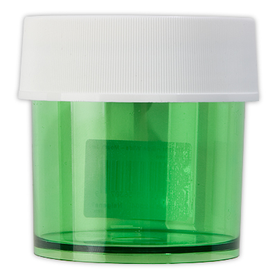 Taking food along is easier and safer with this handy Lexan screw-top jar. - $3.50