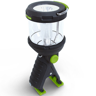 Whether you hold it like a regular flashlight, stand it up, or clip to virtually anything, the Blackfire Clamplight is sure to provide more than enough light to complete whatever task is at hand. - $39.95