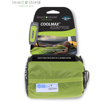 Sleep comfortably in warm or humid conditions-Sea to Summit's Adaptor liner is made from moisture-wicking Coolmax fabric and provides built-in insect protection with Insect Shield permethrin. - $57.95