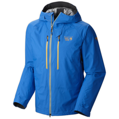Designed in collaboration with Mountain Hardwear's top ice climbing athletes, the Seraction is the ultimate, fully waterproof mixed rock and ice climbing jacket. Dry.Q Elite technology ensures waterproof protection with exceptional breathability. - $374.98