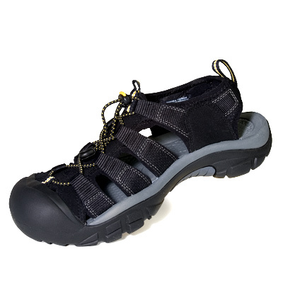 Camp and Hike Water-ready, quick drying, and rugged, Keen's Newport H2 provides excellent traction, a supportive footbed, and a bungee lacing system for a secure, adjustable fit. - $100.00