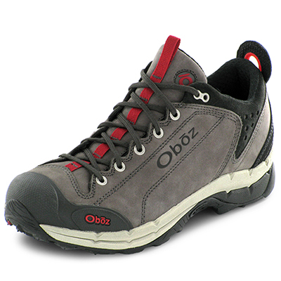 Camp and Hike Built for day hikes, scrambling, and travel, the Arete from Oboz delivers durable cushioning, along with the stability, support, and aggressive traction you need for varied trail conditions. - $120.00