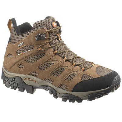 Merrell's endless summer essential, the Moab Mid WP features waterproof construction, breathable mesh uppers, and a Vibram outsole for demanding terrain.This product will be shipped directly from Merrell and will leave their warehouse in 2-3 business days. Eligible for UPS ground shipping only. - $120.00