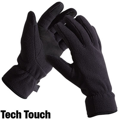 All-purpose midweight fleece gloves keep you warm through the winter. - $10.48