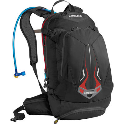 If you're going to hit the trails for a full day of riding, you're going to need a pack that holds a lot of water and gear. With 3 L of water and 14 L of cargo space, the Camelbak H.A.W.G. NV hydration pack has you covered. - $150.00