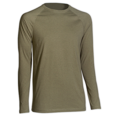 Supersoft and lightweight, this crew dries more quickly than all cotton and wicks moisture, too. Comfortable for hiking, impromptu campus sports, or casual wear. - $13.48