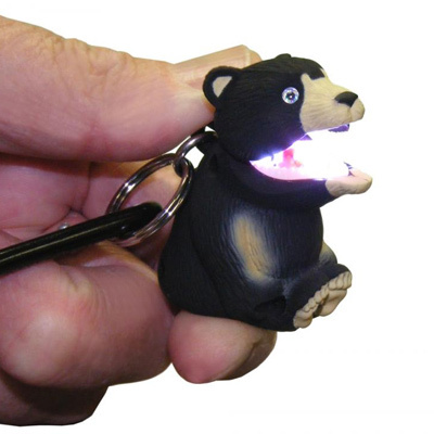 Don't underestimate Sun Company's WildLight Black Bear with its powerful LED. It's the light with a bite! - $9.95