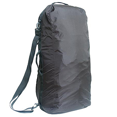 A protective duffel bag for checking a backpack as luggage, The Sea to Summit Pack Converter works as a rain cover during travel and trekking. - $69.95