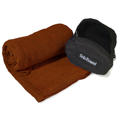 Absorbent and quick drying, the Tek Towel is ideal for travel and all outdoor activities like traveling, camping, boating, taking to the gym, pool or beach or drying the dogs off after a swim. - $26.95