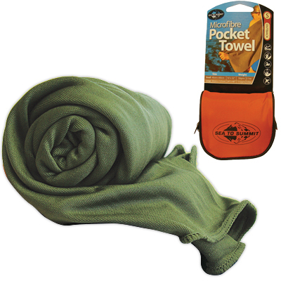 This surprisingly thirsty towel is the lightest woven fabric travel towel on the market! Great for camping, backpacking, kayaking. - $22.95