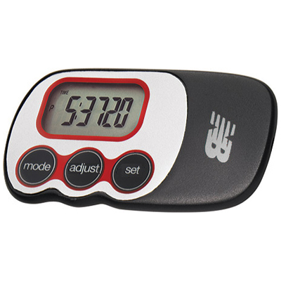 More accurate than traditional pedometers, the New Balance Via Slim uses the latest technology so you can wear it anywhere on your body and monitor your daily activity. - $29.95