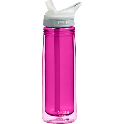 The spillproof, BPA-free CamelBak Eddy Water Bottle makes it easy to stay hydrated on the go. - $20.00