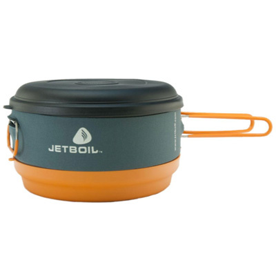 Upgrade your 2-liter Helios system to maximum capacity with the Jetboil 3-liter Cooking Pot. - $69.95