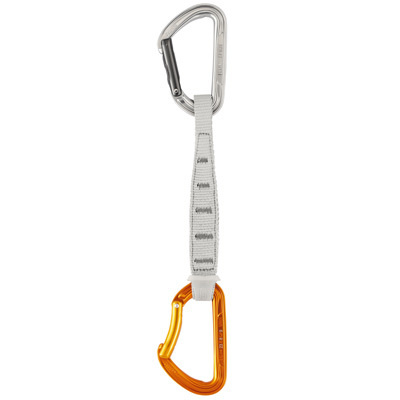 Take your sport climbing to the next level with the Petzl SPIRIT EXPRESS quickdraw. Weighing in at a mere 100 g, this versatile 17 cm draw is great for reducing rope drag on long, traversing routes. - $22.95