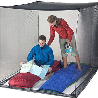 Ideal for trekking, traveling, and wilderness camping, the Box Net shelter offers essential protection against buzzing and biting insects. - $49.95