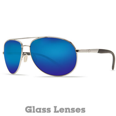 Made for open water with classic aviator style, the Wingman will make you feel like hopping on the nearest puddle jumper and heading for the coast. With the comfort of stainless-steel spring hinges, soft rubber temples, and fully adjustable silicone nose pads, you might forget you have these beauties on. - $279.00