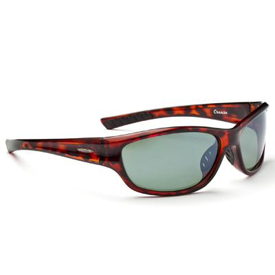 Precision optics, polarized performance, and lightweight comfort are combined in the confident look of Optic Nerve's Crease Sunglasses-so get out and enjoy. - $49.00