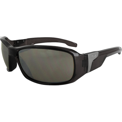 While the photochromic lenses of Julbo's Zul? get lighter or darker depending on light intensity, the unique frame solves the dilemma of outdoor enthusiasts by coupling sports function with stylish aesthetics. - $190.00