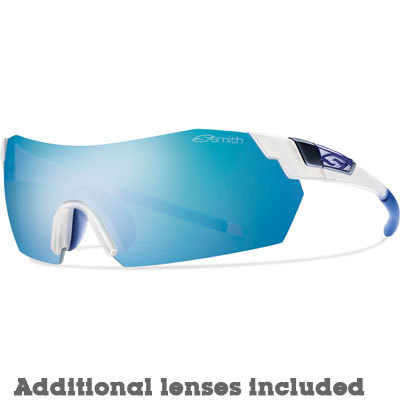 With a sport-driven frame, 3-position adjustable nose pads, and interchangeable photochromic and clear lenses, Smith's PivLock V2 provides first-class comfort and performance. It's truly race ready. - $239.00