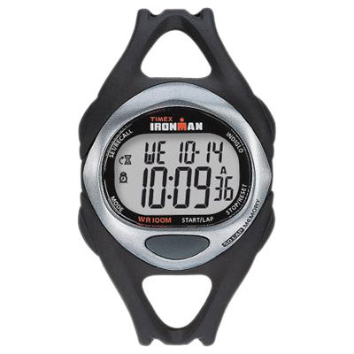 The stylish Timex Ironman Sleek 50-Lap is loaded with features to help you keep track of your workouts and looks great as an everyday watch. - $54.95