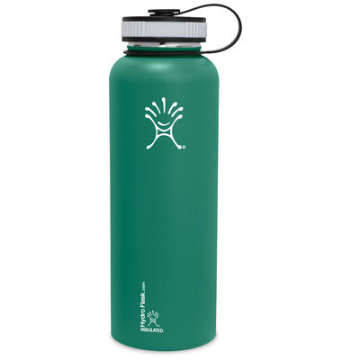 Drop the shorty and go with the 40!  The Hydro Flask 40 oz Wide Mouth Stainless Steel Water Bottle is made for serious hydration and sustenance portability. - $36.99