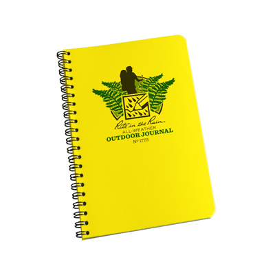 The Rite in the Rain All Weather Outdoor Journal No. 1773 is an ideal size for the outdoor enthusiast who seeks plenty of room to write thoughts, ideas or record trail or camping data. - $9.95