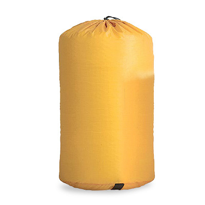 Siliconized nylon stuff sacks are super strong yet incredibly light. They're a great way to keep your backpack, kayak, or luggage organized. - $15.95