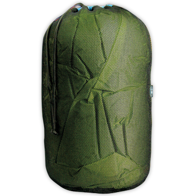 Durable nylon mesh stuff sack that's great for storing gear, clothing, or laundry whether it's dry or wet. - $8.95