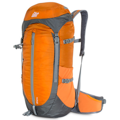 A traditional top-loader, the Zenith is light, durable, and designed for restriction-free movement on the trail. - $71.40