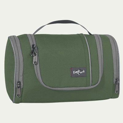 The Caddy from Eagle Creek is just-right-size toiletry kit for a long weekend that fits perfectly into your carry-on so you can get up and go. - $32.00