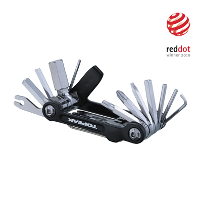 The Mini 20 Pro is a precision built, 20 function mini tool designed to handle any road or trailside repair. - $39.95