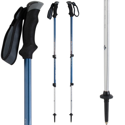 The most affordable elliptic pole, the Black Diamond Contour Elliptic Trekking Pole is equally adept on snow, dirt, rock and any other trail surface you'll encounter. - $84.98