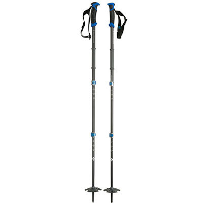 Ski A durable, three-section aluminum touring pole, the Black Diamond Expedition is ideal for splitboarders, winter travelers, and anyone else looking for maximum packability and versatility. - $59.98