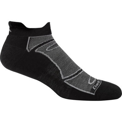 Designed for running and biking, No-Show Light Cushion 1/4 Socks deliver a blister-free, foot-hugging fit with light cushion that's Darn Tough. - $16.00