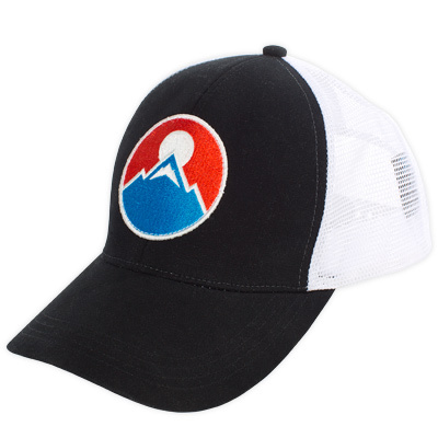 Our Logo Trucker Hat presents a big, bold, and bright logo for all that we enjoy about the outdoors. - $15.00