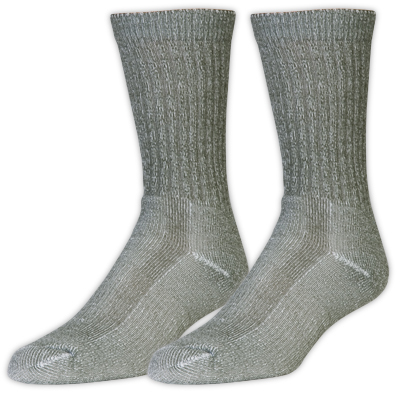 Lightweight, crew-length socks designed for trail shoes and closer-fitting footwear. Ideal for moderate day hikes, adventure travel, and everyday wear. - $20.00