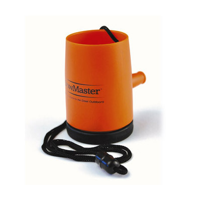 The Storm Master Horn is the loudest little horn on the water! Be prepared - wear one while you're kayaking or boating for unexpected emergencies. - $8.00